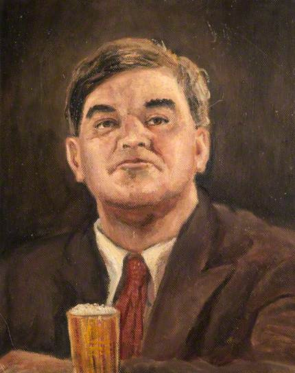 Portrait of Nye Bevan by Walter Stevens Cole, 1942 – People's History of  the NHS